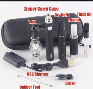 EVOD ce4 Vape PenStarter Kits USB Passthrough 510 battery Electonic cigarette Multi Vaporizer dry herb tank factory sell Updat Cigarettes