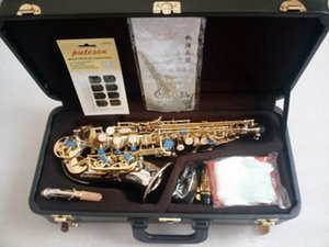 Best quality New Japan Yanagisawa Soprano Saxophone B Tune Nickel Plated Yanagisawa SC-992 Musical Instrument Promotions Free shipping