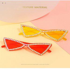 street fashion cristal de diamante Ne tiro de óculos de sol 2020 new retro óculos de sol moda de rua tiro grande moldura quadrada rQWB4 footballshoe SkvSB