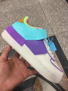 New fashion designer shoes type shadow triple black white What The Blazer Low platform Chaussures women Sports Sneakers