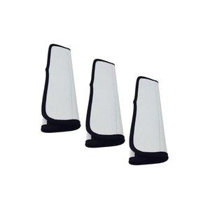 4 pièces de ceinture de sécurité Couverture Antiderapant Stretchy Intérieur de voiture automatique à l'avant Durable souple Accessoires épaule Protect Matériel néoprène