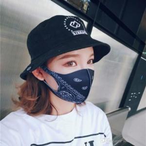 Hip Hop per adulti Bocca Maschera Mascherine Camouflage Printting protezione della maschera di polvere del respiratore per esterni in bicicletta 3 28hp E1