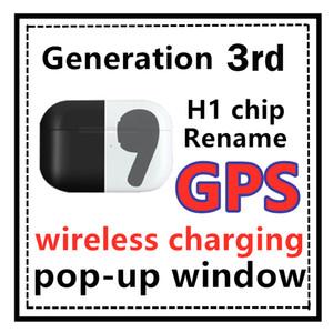Airpros H1 Chip Pro Gen3 AP3 Profis Kopfhörer Rename GPS AIR3 Pro tws Kopfhörer Wireless-Charging PK w1 Chip AP2 i200 i500 i9000