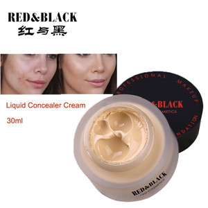Redblack 모이스춰 리치 파운데이션 크림 페이스베이스 메이크업 프라이머 컨실러 30g Beauty Cosmetic