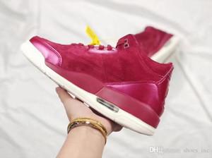 Hatfield Tinker 3 zapatos de baloncesto de cemento de oro rosa Tinker AJ3 III 30 aniversario conmemorativo atlético zapatillas de deporte al aire libre