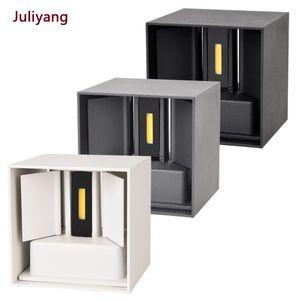 IP65 LED waterproof wall lamps 12W indoor and outdoor adjustable wall light courtyard porch corridor bedroom sconce