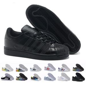 Adidas Superstar smith stan allstar  2020 شحن مجاني سوبر ستار ابيض اسود وردي الذهب الأزرق النجومالكبرياء أحذية رياضية سوبر ستار النساء الر الرياضية الاحذية الاتحاد الأوروبي SZ36-45