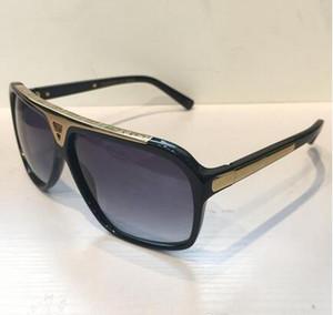 Evidência de luxo Millionaire Sunglasses Retro Mens Vintage Designer Logo Sunglasses brilhante do ouro Laser Estilo Verão Mulheres Top Quality Com BOX