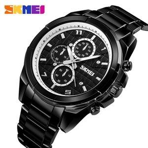 SKMEI Quarz Smart Watch-Mann-Armbanduhr wasserdicht Bluetooth Smart Watches Calorie SOS-Hilfe-Mann-Uhr relogio masculino 1461