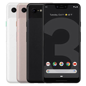 Refurbished Original Google Pixel 3 XL 6.3 inch Octa Core 4GB RAM 64GB 128GB ROM 12.2MP Quick Charge 3.0 Android Smart Cell Phone DHL 10pcs