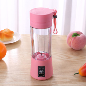 380ml Portatile Blender Elettrico spremiagrumi USB Smoothie Smoothie Blender Mini Juice Maker Cup Beach Mixer Home Mish Processore alimentare