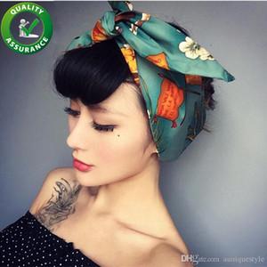 Designer de luxo Deadband Moda Acessórios Para o Cabelo para As Mulheres Jóias Turbante Hairbands Fio De Ferro Retro Bowknot Polka Wire Hair Band Meninas Presente