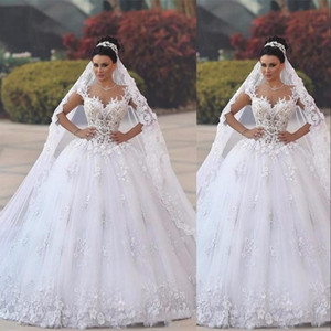 New Cheap For jeanpaul kalul Cathedral Bridal Veils Luxury Long Applique Custom Made White Ivory High Quality Wedding Veils 3 M