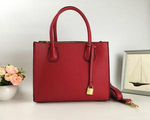 Borse firmate borsa marca famosa moda modello litchi Borsa in pelle con tote in pelle a fisarmonica in rilievo