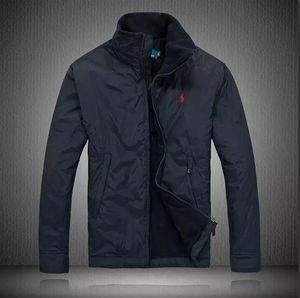 POLO Ralph Lauren 남성 자켓 스포츠 코튼 코트 윈드 재킷 캐주얼 다운 재킷 여성 아우터 코트 윈드 러너 giacca La chaque