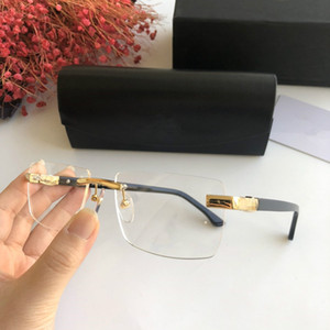 2020 LUXE récent MYBAC Z1196 monture de lunettes optique pour unisexe 56-19-145 pour les lunettes de prescription Fullset logo cas magasin d'usine