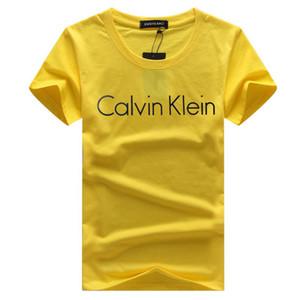Erkek T shirt 2019 İlkbahar Yaz Yeni Marka Tasarımcılar Kısa Kollu Moda Baskılı Gözler Casual Açık Elbise 9 Renkler TK2 Tops