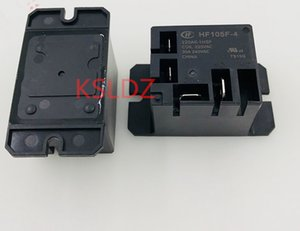 Free shipping lot (5pieces lot)100%Original New HF105F-4-220AK-1HSF 220VAC 4PINS 30A250VAC Power relay