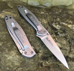 Atacado Kershaw 1660 assistida combate faca Dobrável Quick Open EDC faca de bolso A07 616 camping survival caça faca com caixa