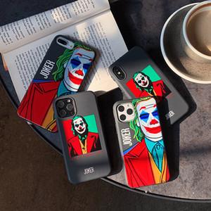 quadro de personalidade coringa boy Capa Para Iphone X 11 pro Xs Max Xr 10 8 7 Mais silicone suave de luxo Coque Fundas