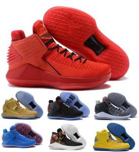 Летные 32 32s обувь Баскетбол для мужчин Mens красный китайский Новый год Finale Jumpman XXXII высокого качества 2020 Новые Корзинки Кроссовки Обувь Кроссовки