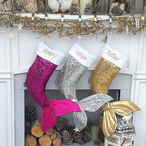 Calza di Natale Grande camino 3 colori Wedding Fishtail delicato