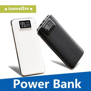 20000mAh Power Bank Дисплей LCD 1A питания Портативный USB банк питания Цифровой Polymer 2 Light 1A Аккумулятор двойной 5V1A С 2 Lithium Mobile Mini