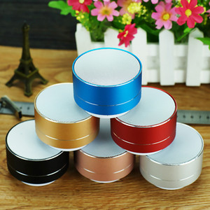 100 pcs Mini A10 Aluminum Alloy Wireless Bluetooth Speakers Outdoor Portable Mini Metal Speaker With Led Lights For Phone Huawei Xiaomi