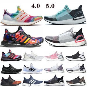 Ultra-Boost-4.0-Turnschuhe Ultraboost 19 Laufschuhe Weiß Walker Herren Damen Woodstock Regenzeit CNY Nizza Kicks Ultra-Boosts Trainers