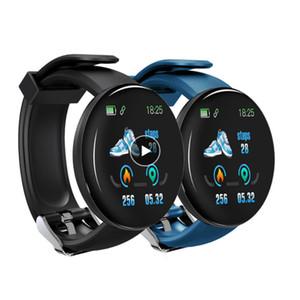 Intelligente Orologi all'ingrosso Heartrate Guarda D18 intelligente Wristband D18 D13 Orologi sportivi intelligente Banda Uomini Donne Smartwatch Android 1pcs / lot
