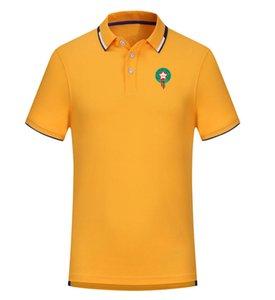 Marocco 2020 primavera e l'estate nuova di calcio di polo del cotone a manica corta bavero di polo uomini della camicia può essere camicia T-shirt personalizzate fai da te