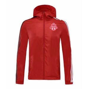 2020 Toronto FC jacket hoodie Windbreaker tracksuits soccer jersey Active windbreaker hoodies football sports winter coat Men's Jackets
