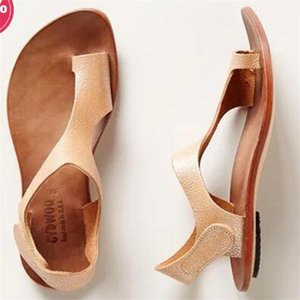 Sandali Toes Shoes Single Shoe Flat Bottom Ladies Summer Beach Tempo libero Non slip Fashion 28sd f1