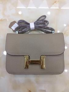 19cm 23cm cowskin Litchi hakiki deri çanta Moda Tasarımcısı Çanta Marka Askılı çanta lüks kadın Lady comstanse Çanta Fabrikası
