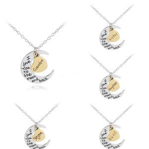 Mood Kolye Moda Loving Kalp Harf Mısır kolye Mood Değişim Renk Kolye Paslanmaz Çelik Ç Zinciri # 602