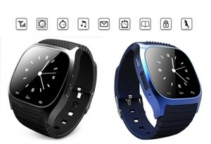 New smart watches M26 with LCD screen anti lost alarm pedometer Sleeping monitor fashion smartwatch for android ios phones