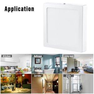 LED Flat Panel Light 18W 6500K Surface Mounted Ceiling Light Fixture Energy Saving Super Brightness LED Lamp for Kitchen Bathroom Corridor
