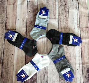 Champion Short Socks Women Mens Designer Ankle Socks Anklet Low Cut Crew Sock Slippers Boat Sock Sports Socks Sneaker Stockings C61305