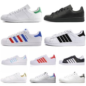 2020 Originals Stan Smith Superstar blanc irisé Hologram junior Superstars des années 80 Fierté Sneakers Super Star Femmes Hommes Sport Chaussures Casual