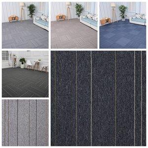 19.7 * 19.7inch Grande giuntabili Carpet Piazza addensare PVC Home Office fai da te Carpet Ingegneria Commercial Hotel Corporate Carpet DH1186-5 T03