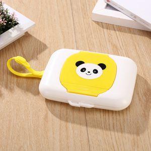 Baby Travel Tissue Box Wipe Case Child Wet Wipes Box Changing Dispenser Storage Holder convenient boite a mouchoir