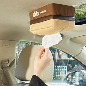 자동차 티슈 보관 박스 Sun Visor Hanging Sunroof / Seat / Multi-Function Creative Tissue Cover
