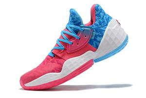 2020 새로운 도착 남성 제임스하든 4 권. 4 개 4S IV MVP BHM 블랙 남자 농구 신발 야외 스포츠 교육 운동화 크기 미국 7-11.5