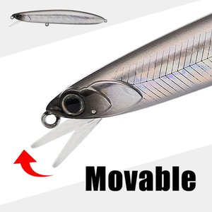 2020 New Mobile lip Raptor Glide Minnow Bait Hound 110mm 17.5g 18.5g Full Weight Shift System crank wobbler Fishing Lures T200629
