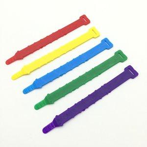 Tavukçuluk Ördek 1000 Adet Ayarlanabilir iç çapı 0,8-2,3 cm Hen ayak halka Tavuk Carry flag 5 Renkler Yumuşak PVC malzeme yüzük