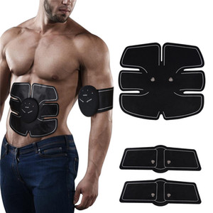 Eléctrica ccsme estimulador muscular músculo abdominal del ABS tóner Body Fitness Masaje Shaping Patch Siliming Trainer ejercitador unisex