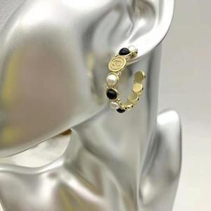 orecchino gioielli in ottone orecchini rotonda di alta qualità di marca del progettista orecchini da donna