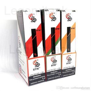 Ultime nuova Vape 1.3ml stik monouso Pod Kit 280mAh Stick Batteria multi colori Eon St! K puffbar Portable