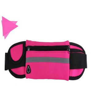 Impermeabile del sacchetto della vita esterna Esecuzione Sport pacchetto di Fanny acqua del sacchetto della cassa del telefono di modo resistente per telefoni cellulari