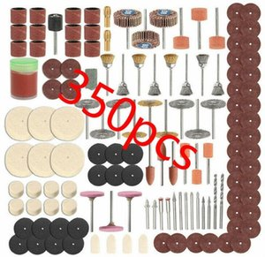 90-350pcs Shank Rotary Tool Accessories Set Mini Drill Bit Kit Grinding Sanding Polishing Cutting Universal Fitment for Dremel